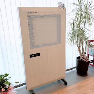 HEPAフィルター付き空気清浄機